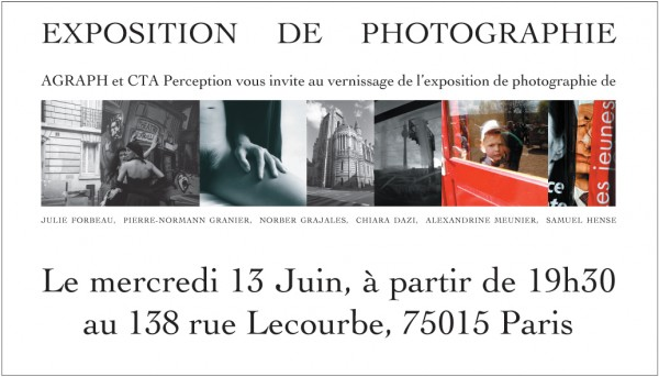 Vernissage du 13 juin