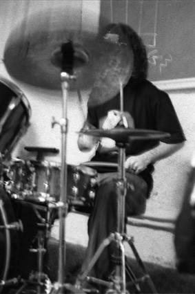 Shy drummer